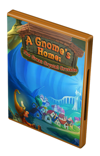 Жилище гномов. Поход за великим кристаллом /A Gnome's Home: The Great Crystal Crusade